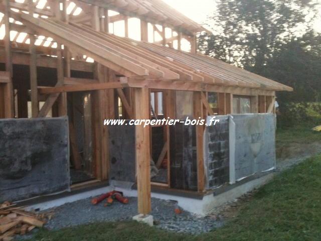 charpente bois ou beton